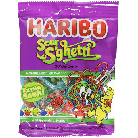 Haribo Sour S'ghetti  [142g] - USA