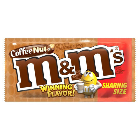 M&M's Coffee Nut Sharing Size (USA) - Plus Candy