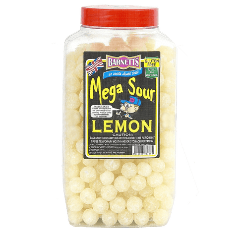 Barnetts Mega Sour - Lemon (UK) [100g]