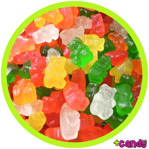 Gummy Assorted Bears - Sugar Free [500g]