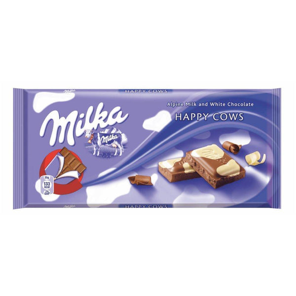 Milka Happy Cow (Kuhflecken) [100g]-EU