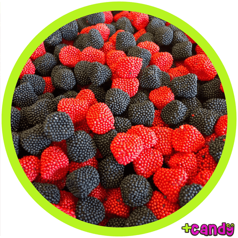 Black & Red Moon Berries [500g] - Plus Candy