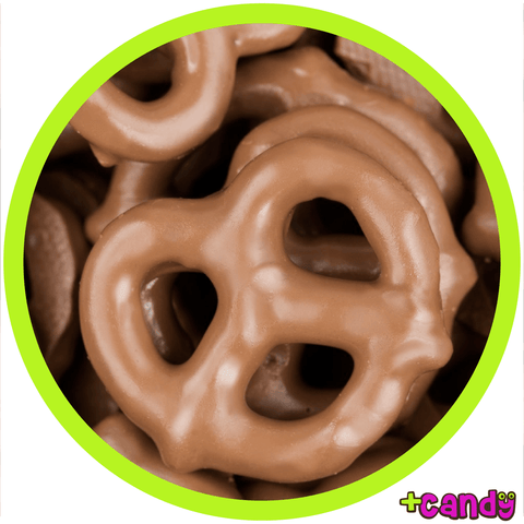 Milk Chocolate Covered Pretzels [500g]