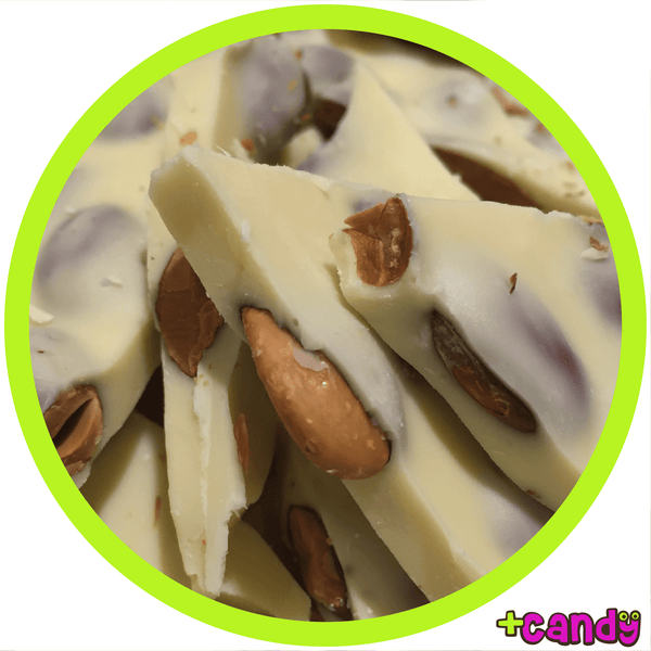 Almond Bark White Chocolate [500g]