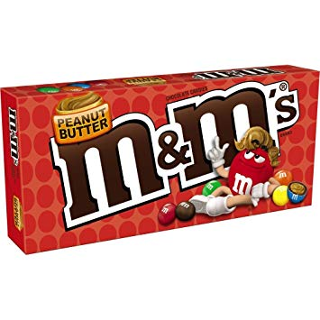 M&M Theater Box - Peanut Butter  [85.1g]- US