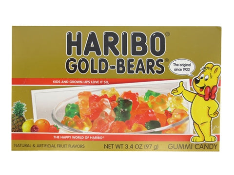 Haribo Gold Bears Theater Box [97g]- US