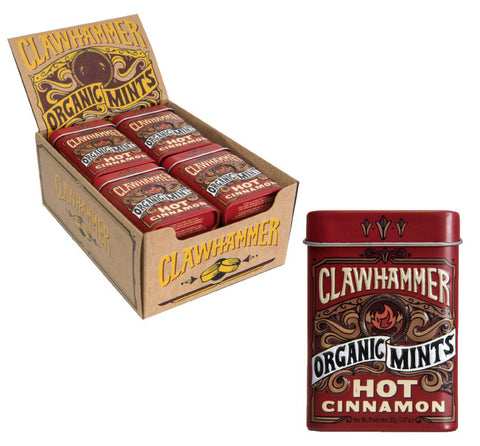 Clawhammer Organic Mints - Hot Cinnamon