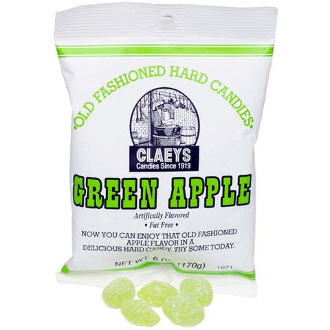 Claey's Old Fashioned Hard Candy Green Apple