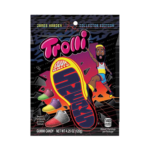 Trolli Bag Sour Brite Sneaks James Harden