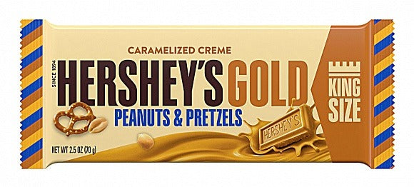 Hershey's Gold - Peanuts and Pretzels King Size