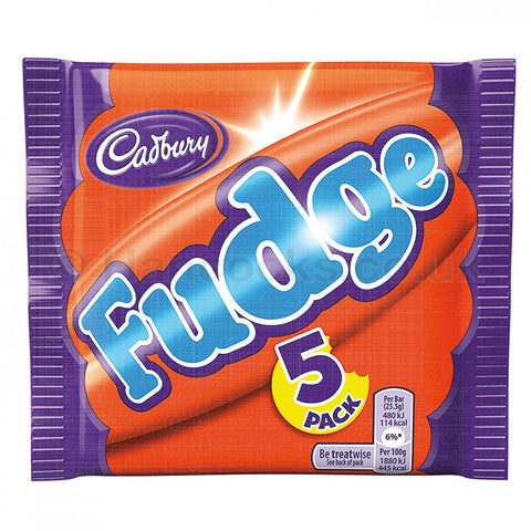 Cadbury Fudge 5pk [Uk] 127.5g