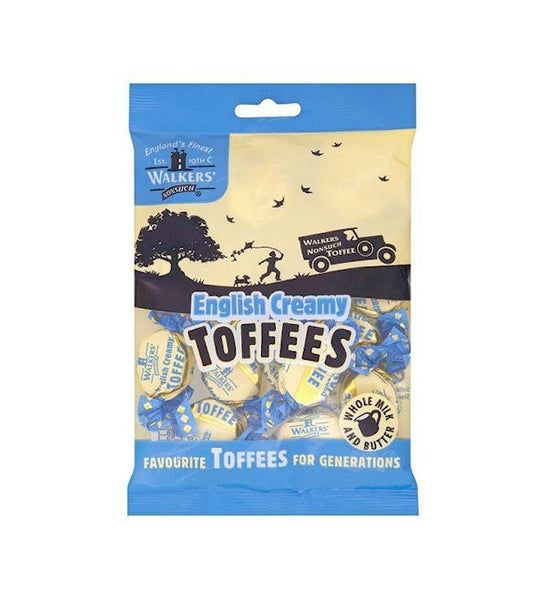 UK Walkers English Creamy Toffees Bag