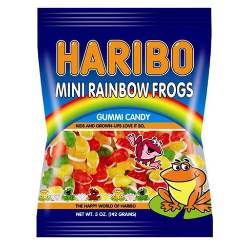 Haribo Mini Rainbow Frogs  [142g] - USA