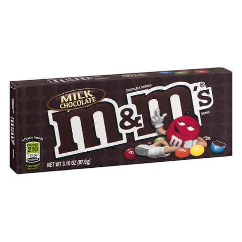 M&M's Milk Chocolate Theater Box [87.9g]- US