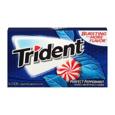Trident Singles Peppermint [14pc]