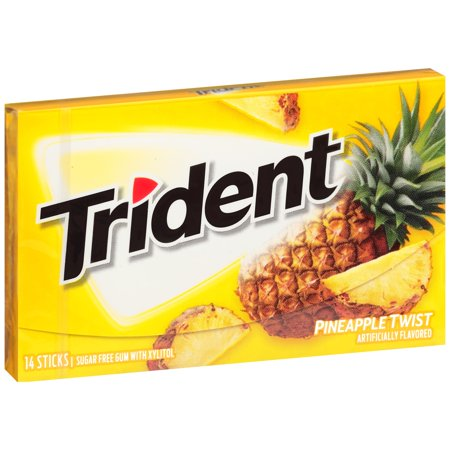 Trident Singles Pineapple Twist [14pc]