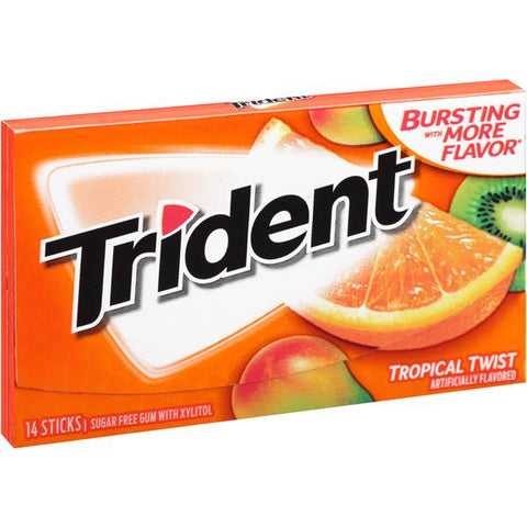 Trident Singles Tropical Twist [14pc]