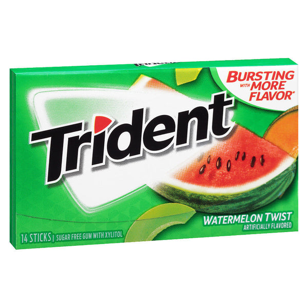 Trident Singles Watermelow Twist