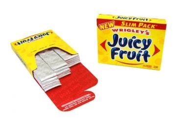 Wrigley Juicy Fruit Slim Pack