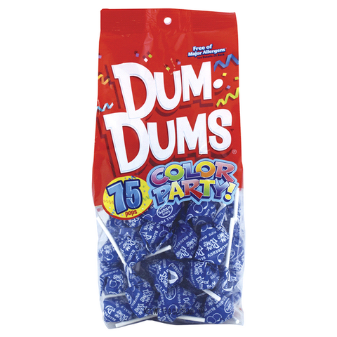 Dum Dum Color Party Bag BlueBerry