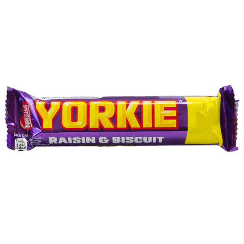 Nestle Yorkie Raisin Biscuit - Plus Candy