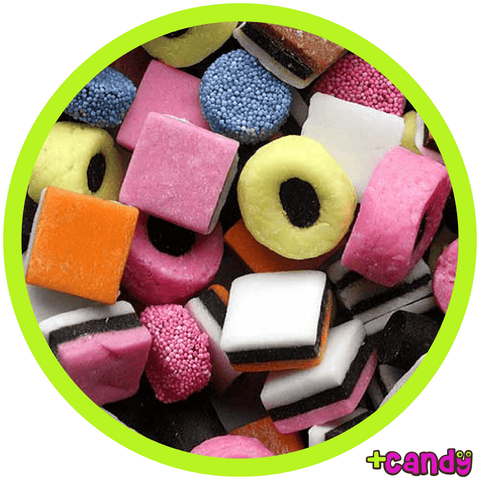 Licorice Allsorts (UK) [500g]
