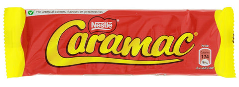 Nestle Caramac (UK)