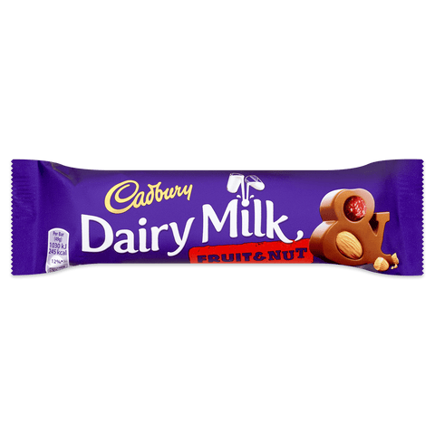 Cadbury Dairy Milk - Fruit And Nut (UK)
