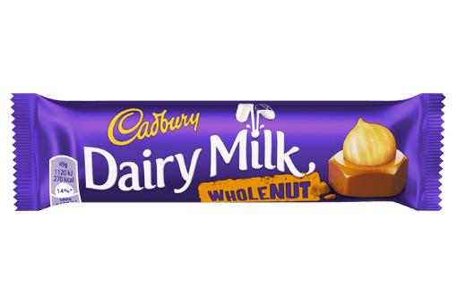 Cadbury Dairy Milk - Whole Nut (UK)