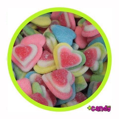 Sugar Gummy Triple Hearts [500g]