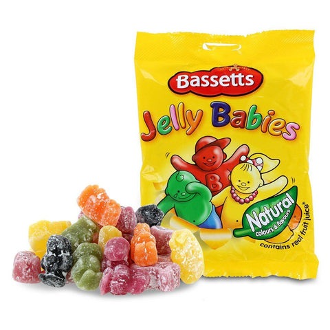 Bassetts Jelly Babies - Plus Candy