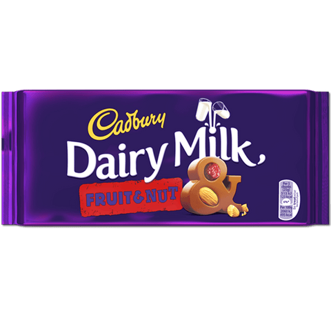 Cadbury Dairy Milk - Fruit And Nut - Plus Candy