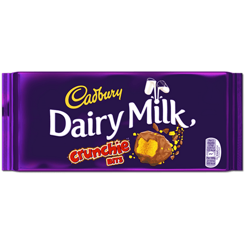 Cadbury Dairy Milk - Crunchie Bits - Plus Candy