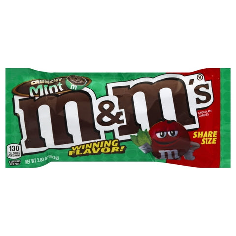M&M Crunchy Mint SHARE SIZE