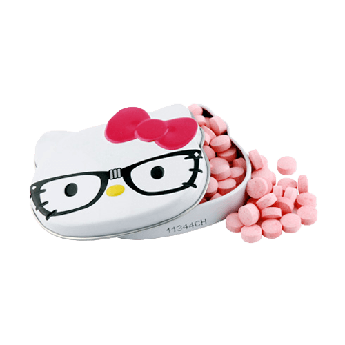 Hello Kitty Nerd Sours Candy Tin