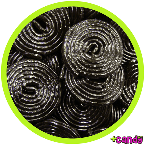 Black Licorice Wheels [500g] - Plus Candy