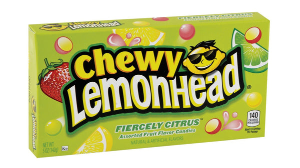 Lemonhead Chewy - Fiercely Citrus Theater Box [142g]- US