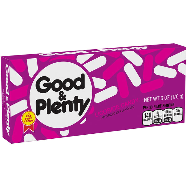 Good & Plenty Licorice Candy Theater Box [170g]- US