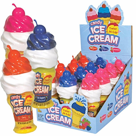 Twist-N-Lik Candy Ice Cream - Assorted