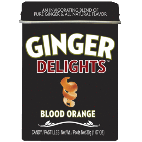 Ginger Delights - Blood Orange - Plus Candy
