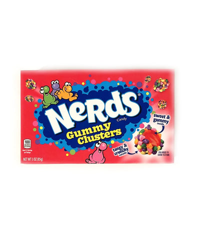 Nerds Gummy Clusters Theater Box- 3 OZ