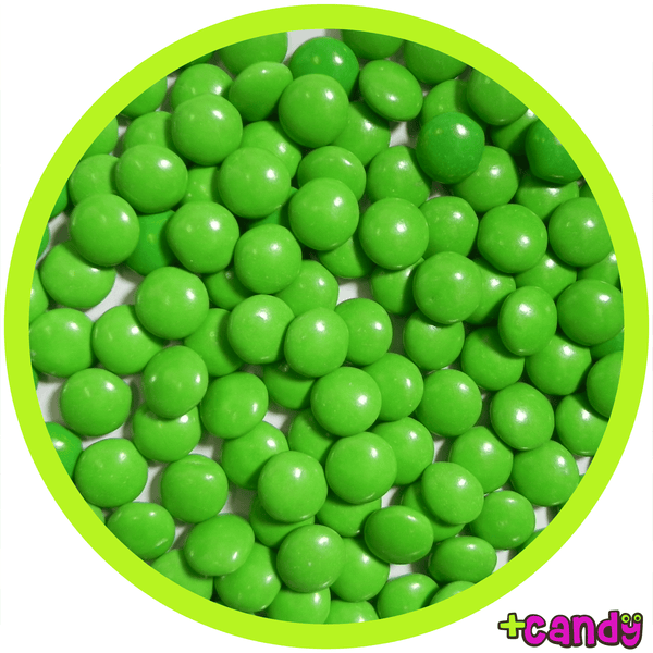 Milk Chocolate Gems Green [500g]