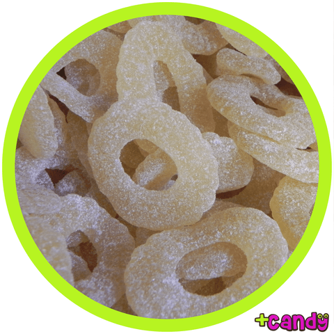 Sour Pineapple Gummi Rings [500g]