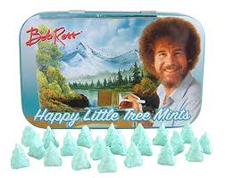 Bob Ross Happy Little Tree Mints Tin  [42.5g]