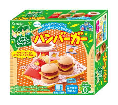 Kracie Happy Kitchen Burger Meal - Japan  [26g]