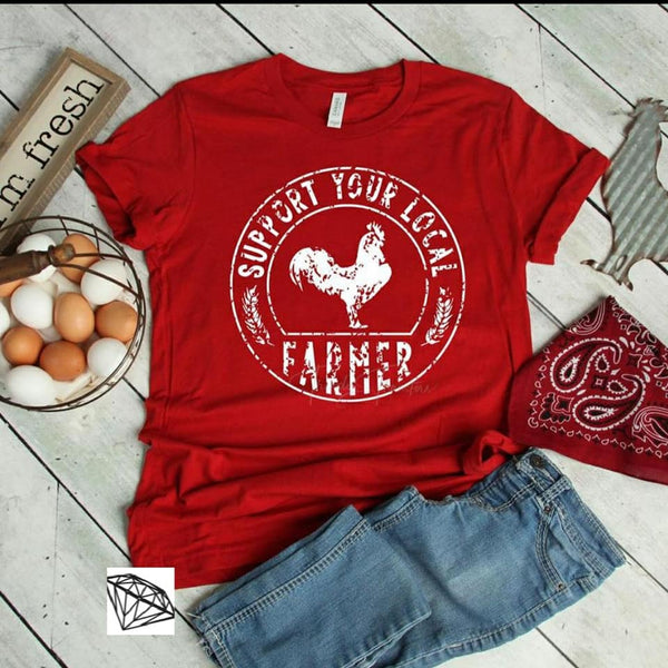 Support Your Local Farmer Rooster