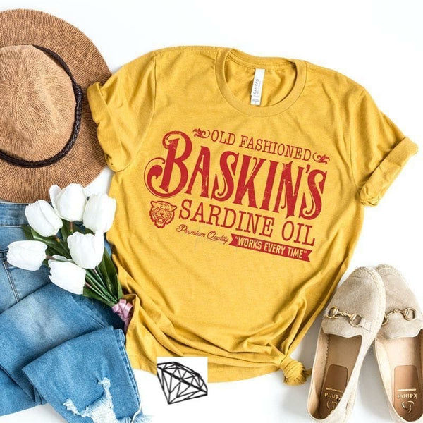 Old Fashioned Baskins Tee