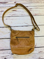 Raw Leather Myra Bag