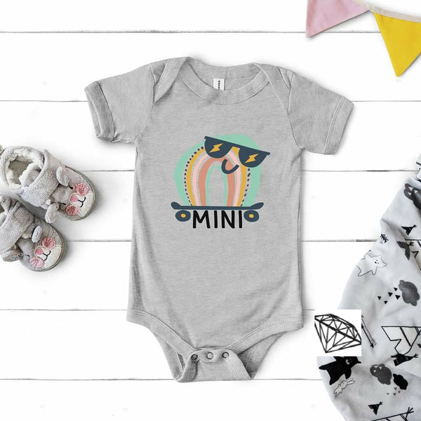Mini Rainbow Onesie