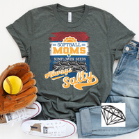Softball and Seeds Tee